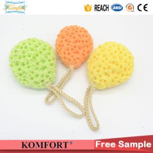 Customized Natural Konjac Bath Soap Mesh Puff Facial Sponge Wholesale pictures & photos