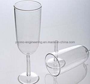 Promotional 12oz Plastic Champagne Glass with Detachable Base pictures & photos