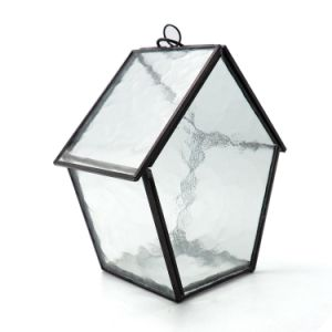 Diamond Shape Tabletop Glass Terrarium Vase Manufacturer pictures & photos