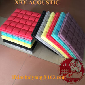 China Factory White High Density Sound Proof Acoustic Foam Panel Wall Panel Ceiling Panel Decoration Panel pictures & photos