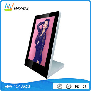 15.6 Inch Full HD 1080P Video Indoor Desktop LCD Advertising Player (MW-151ACS) pictures & photos