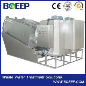 Stainless Steel 304 Screw Sludge Dewatering Equipmet for Oil Industry pictures & photos