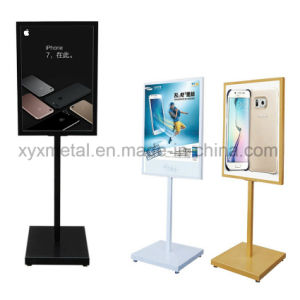 Double Sides Frame Iron Steel Frame Outdoor Advertising Poster Display Stand pictures & photos