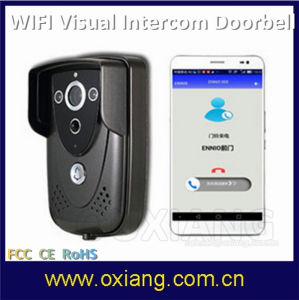 Latest Portable WiFi Video Doorbell with Intercom and Can Control by Smartphone pictures & photos