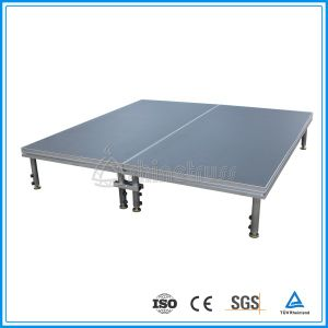 Stable Aluminum Portable Stage with Cylinder pictures & photos