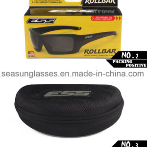 Ess Rollbar Polarized Tactical Sunglasses UV Protective Military Glasses 4 Lens 2 Colors Tr90 Army Google Bullet-Proof Eyewear pictures & photos