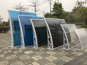 External Building Material Fixed Patio Waterproof Plastic Sunshade pictures & photos