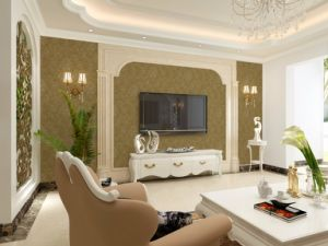 GBL Eco Friendly Cheap Indoor Moisture-Proof Waterproof Wallpaper pictures & photos