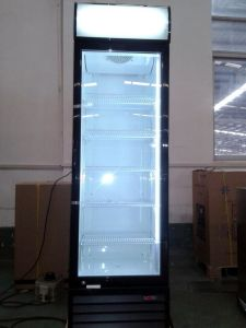 Single Glass Door Display Refrigerator Fridge Showcase Cooler pictures & photos