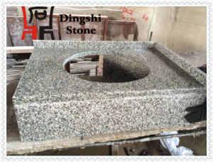 Natural Grey Granite G655 Balcony Wash Basin for Home Decoration pictures & photos