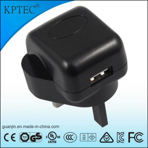 Kptec AC/DC USB Charger with Ce Certificate 5V 1A pictures & photos