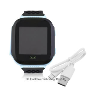 3 Generations Children Kids Study Play Touch Screen Smart Watch Outdoor GPS Tracker Sos Monitoring Positioning Watch pictures & photos