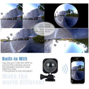 Mini Camera with 4k HD WiFi Action Waterproof 360 Camera pictures & photos