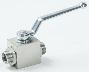 Stainless Steel Hydraulic High Pressure Ball Valve pictures & photos