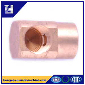 Cross Connector Thread Brass Pipe Connector pictures & photos