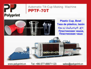 Plastic Cup High-Performance Thermoforming Machine (PPTF-70T) pictures & photos