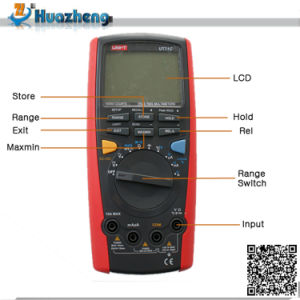 Uni-T Ut71c Manual Digital Multimetro Intelligent Multimeter pictures & photos