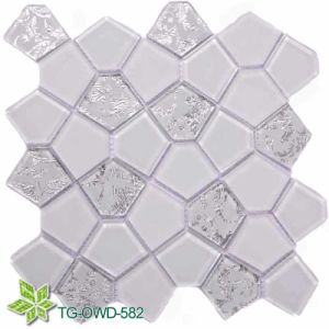 Flower Glass Mosaic (TG-OWD-582) pictures & photos