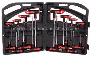 16-Pieces Professional T-Handle Screwdriver Set (FY1016T) pictures & photos