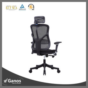 High Back Mesh Wheel Armchair pictures & photos
