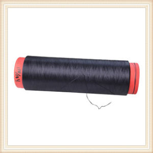 FDY DTY Black Polyester Yarn pictures & photos