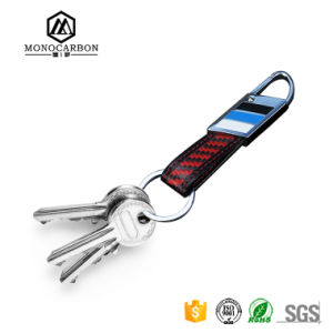 Factory Price Wholesale New Carbon Fiber Key Ring Custom Car Keychain pictures & photos
