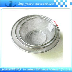 Stainless Steel Wire Mesh Basket with SGS Report pictures & photos
