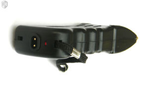 Rechargeable Stun Gun with Safety Disable Pin LED Flashlight, Black pictures & photos