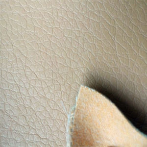 Faux Furniture PU Leather for Sofa, Car Seat, Bench Hw-206 pictures & photos