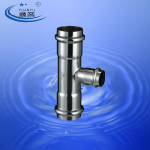 Stainless Steel Compression Fittings Reducing Tee pictures & photos