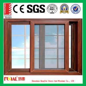 6mm and 8mm Single Glass Aluminum Sliding Window pictures & photos