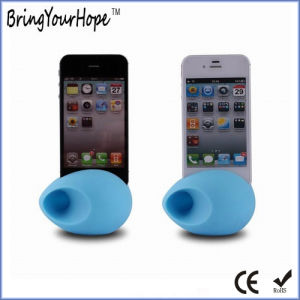 for iPhone Use Silicone Amplifer as Mini Speaker (XH-PS-017) pictures & photos