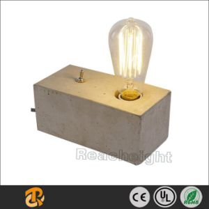 UL/Ce/SAA Cuboid Decorative Concrete Modern Table Lamp pictures & photos