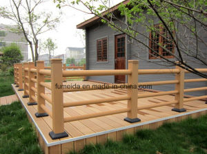 Hot Sale Outdoor Post WPC Gardening Fence K-Rl-21 pictures & photos
