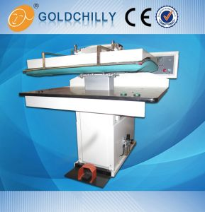 Automatic Steam Iron Press Machine for Clohes Press Ironer pictures & photos