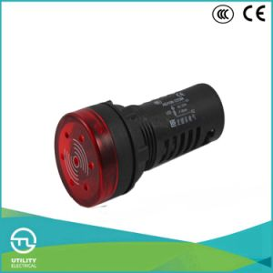 LED 22mm 24V Flash Buzzer Ad108-22sm Ce RoHS Indicator Light pictures & photos