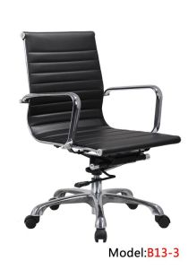 Office Leahter Ergonomic Swivel Hotel Metal Eames Manager Chair (B13-3) pictures & photos