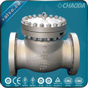 API594 Cast Steel Swing Check Valve pictures & photos