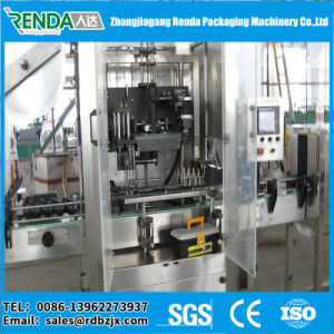 Pm-150 Automatic Can Bottle Shrink Sleeve Label Machine pictures & photos