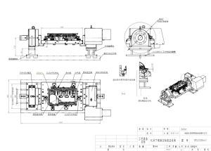 Engine Frame 4-Axis Hydraulic Fixture pictures & photos