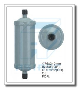 Receiver Drier for Auto Air Conditioning (Steel) 76*240 pictures & photos