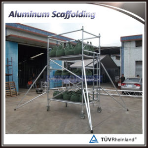 Aluminum Ladder Frame Mobile Scaffolding Tower pictures & photos