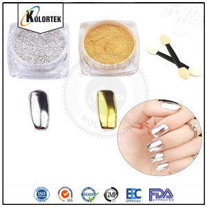 Chrome Mirror Pigment, Silver Chrome Pigment Mirror Effect Nail Pigment Manufacturer pictures & photos