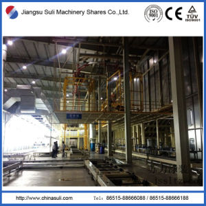 China Suli Shares Bottom Spray Painting Coating Line pictures & photos