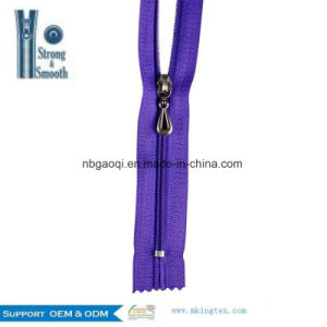 High Quality Colorful Wholesale Zipper Price/ Nylon Zipper pictures & photos