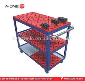 Stainless Steel Hand Carry Electrode Cart 3A-400012 pictures & photos