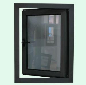High Quality Thermal Break Aluminium Profile Casement Window with Multi Lock K03064 pictures & photos