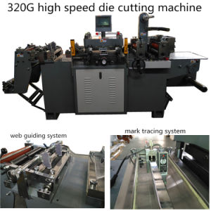 Automatic Flatbed Die Cutting Machine for Self Adhesive Labels pictures & photos