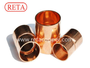 Pipe Fittings Copper Stright Couplings for HVAC pictures & photos