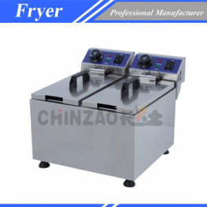 Electric Chips Fryer Equipment for Fast Food (DZL-062B) pictures & photos